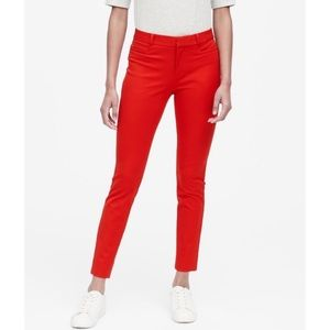 Banana republic Sloan skinny cropped trouser pant